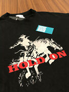 Rhude By Rhuigi X Pacsun Hold On Rodeo Horse L/s Shirt Black Off White Red New L