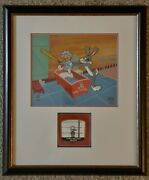 Warner Brothers Cel - Bugs Bunny - Baby Faced Finster - 167/350 - Rare