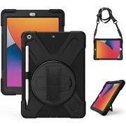 Shockproof Rubber Armor Heavy Duty Case Stand Cover For Ipad 8 7 6 5 4 3 2 Mini