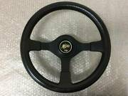 Nissan Nismo Old Logo 350mm Leather Steering Wheels Handle Jdm From Japan F/s