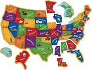 Learning Resources Magnetic Us Map Puzzle Geography And Fine Motor Skills