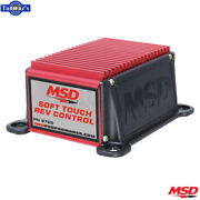 Msd Soft Touch Rev Control For Points And Oem Ignitions- Red
