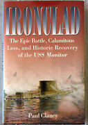 Paul Clancy Ironclad 1st/1st Hc/dj Signed By The Author And 3 Navy Officers