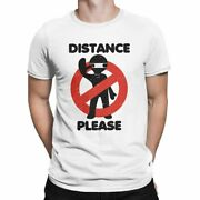 Keep Distance Social Distancing Menand039s T Shirt 1 Meter Or 6 Feet Tees Short