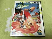 Neo Geo Flying Power Disc / Windjammers Snk For Neogeo Rom Aes Snk From Jp Game