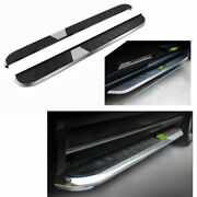 Fit For Jeep Patriot 2011-2016 Black Running Board Side Step Nerf Bar Pedal 2x