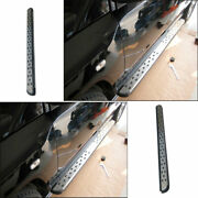 For 2011 2012-2016 Jeep Patriot Silver Side Step Running Board Nerf Bar Protect