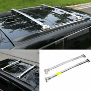 For 2011-20 Jeep Grand Cherokee Silver Steel Top Roof Cargo Rack Cross Bars 2pcs