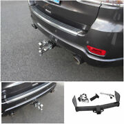 Fit For Jeep Grand Cherokee 2011-20 Cast Iron Rear Bumper Trailer Tow Hitch Hook