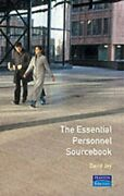 The Essential Personnel Sourcebook Essential Sourcebooks By David Jay