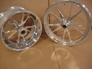 Big Dog Motorcycles 2007 Bulldog Billet Wheel Set 18 X 10 1/2 21 X 3 1/4