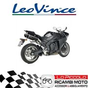 Pair Terminals Leovince Lv One Evo Carbon Yamaha Yzf-r1 2010 Approved