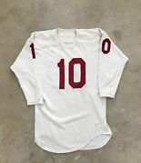 Vintage 50s 60s Game Used Durene Football Jersey St Louis Cardinals