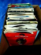 Lot Of 120 + Clean Soul 45's  Gordy - Motown - Westbound - Rare Earth Labels