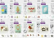 Gemini - Stamp And Die Layering Christmas By Crafters Companion New 2020