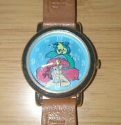 Lot Of 3 The Little Mermaid, Bugs Bunny And Marvin The Martian Disney Watch