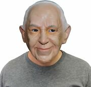 Off The Wall Toys Pope Francis Catholic Pope Halloween Face Mask Beige