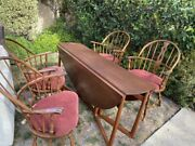 Antique Vintage Drop Leaf Table And Windsor Chairs  Local Pick Up San Mateo