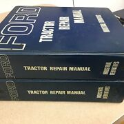 Ford 2000 3000 4000 5000 7000 Service Shop Repair Manual Ag Tractor Guide, 2 Vol