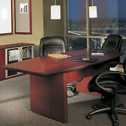 6and039 - 14and039 Large Conference Room Table Boardroom Table Cherry Or Mahogany Wood
