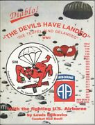 Wwii Army History Book The Deviland039s Have Landed - 508th Parachute Infantry