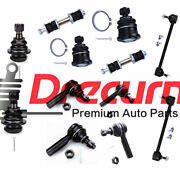 12pc Ball Joint Tierod Sway Bar Kit For 2000 2001 2002 2003 2004 Nissan Xterra