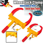 Wheel Lock Clamp Boot Tire Claw Auto Car Rv Truck Boat Trailer Anti-theft Towing