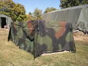 Military Surplus Camo Truck Cover 8 X12.5 X 4 Lmtv M1078 2.5 Ton Damaged Us Army