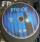 Fringe Season 4 Dvd Disc 4 Only No Case Replacement