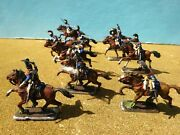 Revell Germany1/72 Scale Napoleonic Cuirassiers10figs Plastic Pro Painted1993oop