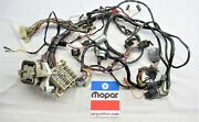 1972 72 Charger Se Satellite Sebring Standard Dash Harness For A/c Equipped Cars