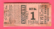 Super Vintage 1940 Cubs/cardinals Opening Day Ticket Stub-4/19/40-wrigley Field
