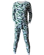 Menand039s Soft Plush Thermal Underwear Set Winter Long Johns Underwear Top And Bottom