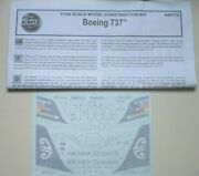Airfix Boeing 737-200 Air New Zealand Ansett 1/144 Scale Decals Instruction Only