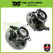 For 2004 - 2008 Chevy Colorado Z71 Front Wheel Hub And Bearing Set 2wd Abs 6 Lug