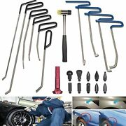 Dent Removal Rods Set Paintless Dent Repair Tools For Car Dent Remover Puller