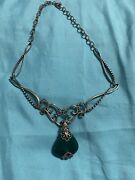 20 Off. Carolyn Pollack Jewelry Necklace And Plus 3 Enhancers White Agate ..