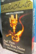 Hugh Fraser Reads Agatha Christieand Then There Were None6-hr.audiobook Tape