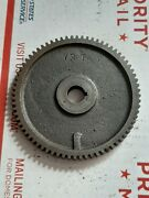 72 South Bend 9 10k Metal Lathe 72 Tooth Change Gear 3/8 Thick 9/16 Bore