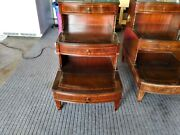 Antique End Tables Sold As Pair