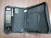 Vintage Motorolla Cellular One Car Phone With Case W7