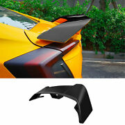 For Honda Civic 10th 2016-2020 Abs Black Rear Aircraft Boot Spoiler Wing Flap 1x