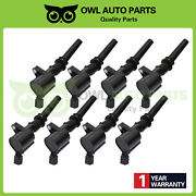 8 Ignition Coil Dg508 For Ford F150 F250 F550 Lincoln V8 Fd503 Mustang Excursion