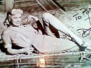 Doris Day Hand Signed 8x10 Photo, Awesome + Rare,gorgeous Young Pose W Coa