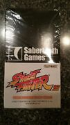 Ufs Street Fighter Universal Fighting System Booster Box Sabertooth Games Rare