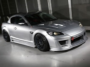 Arise X Hsr Front Bumper For The Mazda Rx-8