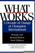 What Works A Decade Of Change At Champion Inte Ault Walton Child Hb+=