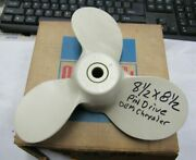 New Oem Chrysler Outboard Propeller 8 1/2 X 8 1/2 Pin Drive 20 Hp