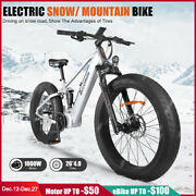 Fat E Bike 1000w Bafang Bbshd Mid Drive Motor Electric Bicycle Snow Beach Ebike