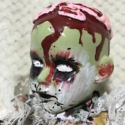 Antique Dolls Creepy Scary Horror Zombie Doll Halloween Prop Hand Painted